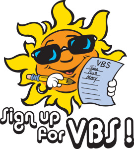 VBS - Sign-up